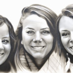 Airbrushed Fine Art Portrait Painting