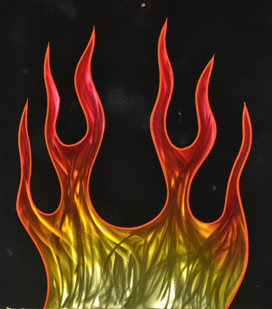 Ground Flame Panel