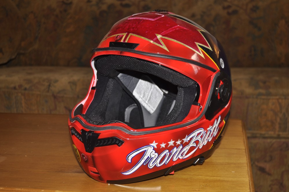 The Eh! Team – Iron Butt skid lid