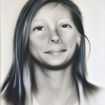 Fine Art Airbrushed Portrait Painting