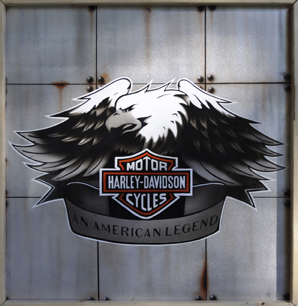Harley Davidson Kamloops Display Panel – Screaming Eagle