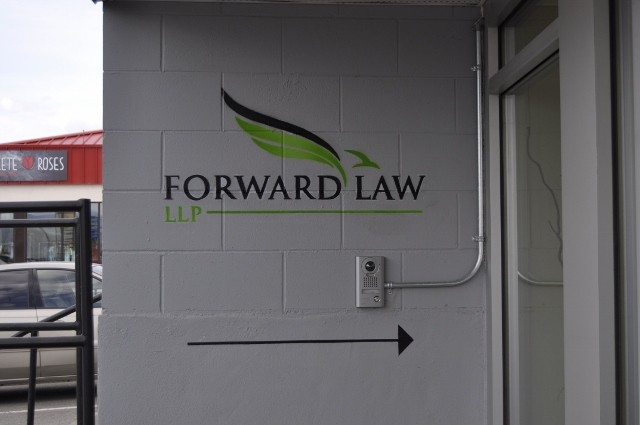 Forward Law Entrance Logo
