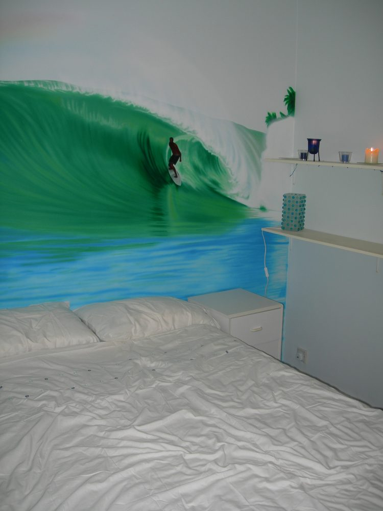 Nias Surfing Mural